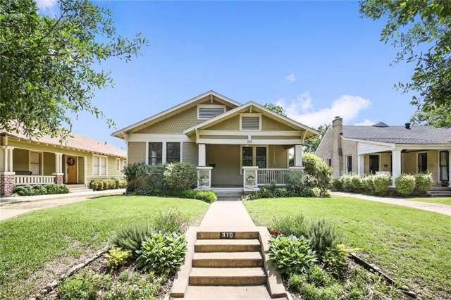 310 N Edgefield Avenue, Dallas, TX 75208 (MLS #14184604) :: HergGroup Dallas-Fort Worth