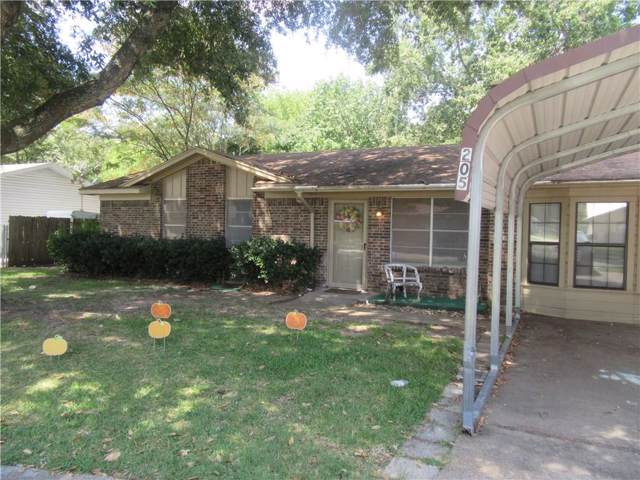 205 Leighton Drive, Terrell, TX 75160 (MLS #14184617) :: The Heyl Group at Keller Williams