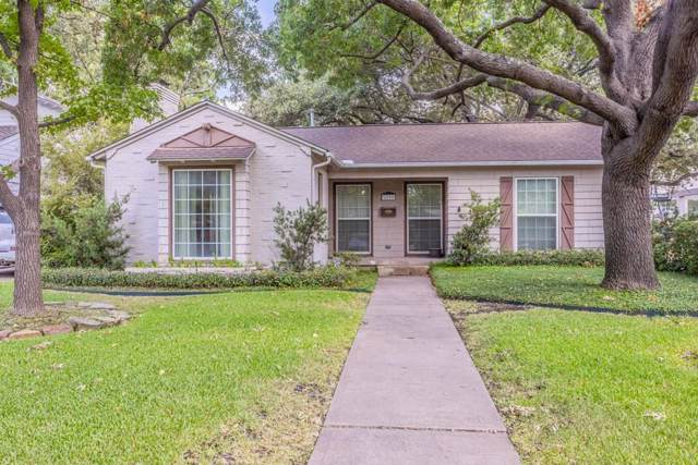 4300 Grassmere Lane, University Park, TX 75205 (MLS #14184624) :: The Good Home Team