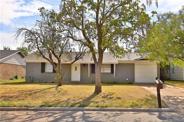 1734 Kimble Street, Abilene, TX 79605 (MLS #14184674) :: Robbins Real Estate Group