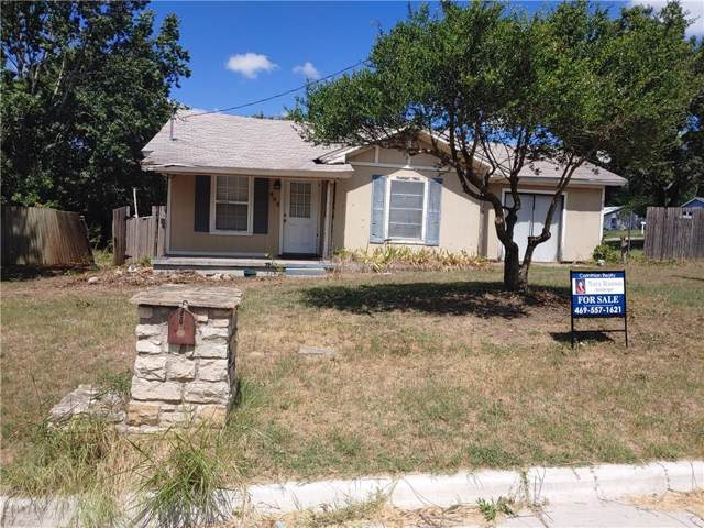 505 E 1st Street, Weatherford, TX 76086 (MLS #14184791) :: RE/MAX Town & Country