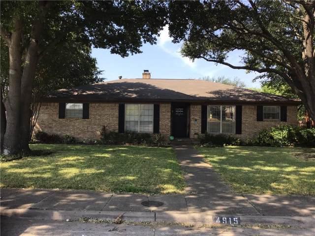 4915 Hovenkamp Drive, Dallas, TX 75227 (MLS #14184878) :: The Julie Short Team