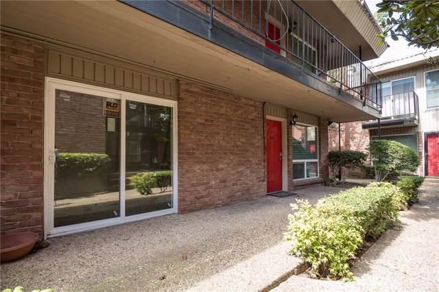 4340 Cedar Springs Road #109, Dallas, TX 75219 (MLS #14184939) :: Kimberly Davis & Associates