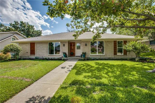 313 Ridgewood Drive, Richardson, TX 75080 (MLS #14184956) :: Potts Realty Group