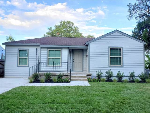 3114 S Ewing Avenue, Dallas, TX 75216 (MLS #14184957) :: Ann Carr Real Estate