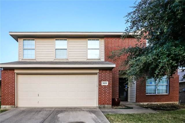 9820 Bragg Road, Fort Worth, TX 76177 (MLS #14185019) :: The Heyl Group at Keller Williams