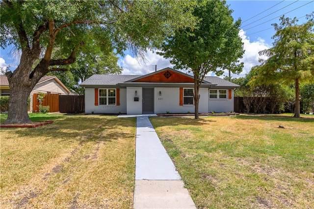 631 E Tyler Street, Richardson, TX 75081 (MLS #14185020) :: Robbins Real Estate Group