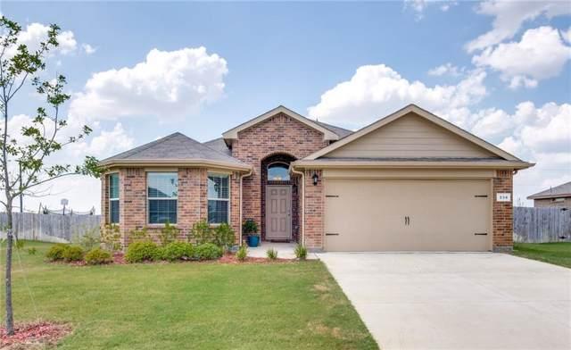 234 Oaklawn Drive, Ponder, TX 76259 (MLS #14185022) :: Team Tiller