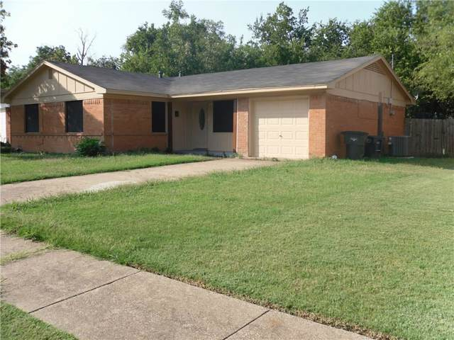 1524 Cloverdale Drive, Fort Worth, TX 76134 (MLS #14185037) :: Kimberly Davis & Associates
