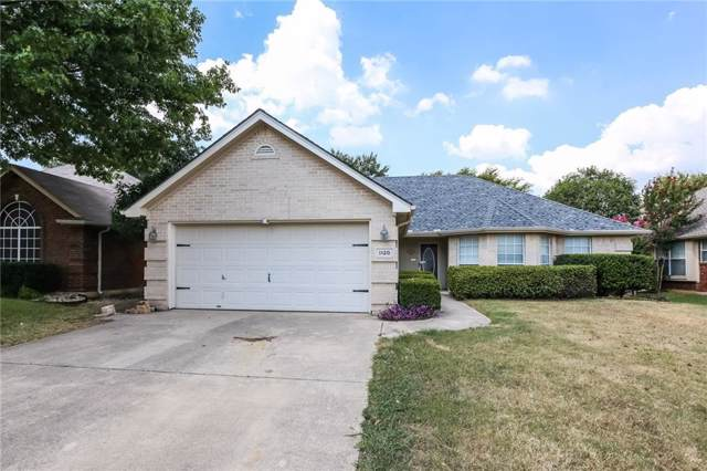 1120 Westgrove Drive, Saginaw, TX 76179 (MLS #14185288) :: The Heyl Group at Keller Williams