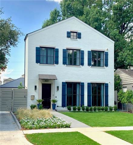 4631 Westside Drive, Highland Park, TX 75209 (MLS #14185319) :: Robbins Real Estate Group