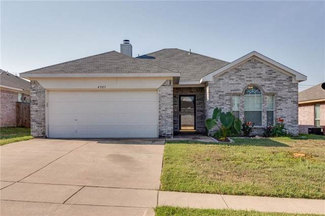 4905 Cape Street, Fort Worth, TX 76179 (MLS #14185333) :: Kimberly Davis & Associates