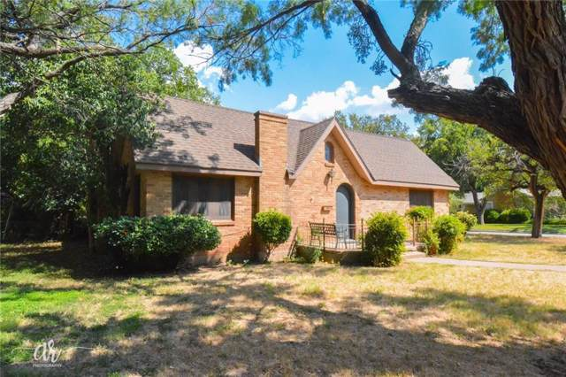 789 Grove Street, Abilene, TX 79605 (MLS #14185390) :: The Heyl Group at Keller Williams