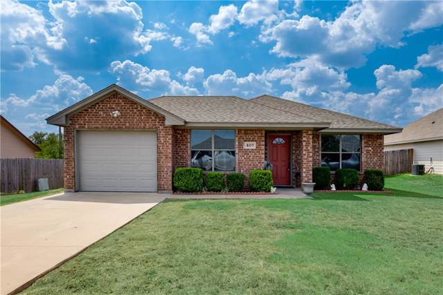 407 Mesquite Drive, Rio Vista, TX 76093 (MLS #14185403) :: The Heyl Group at Keller Williams
