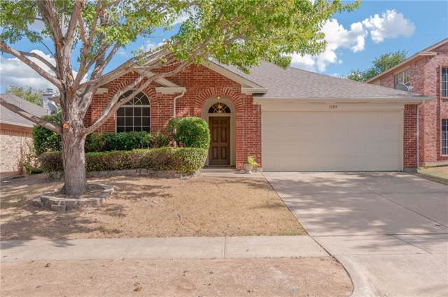 1109 Iron Horse Drive, Saginaw, TX 76131 (MLS #14185468) :: RE/MAX Town & Country