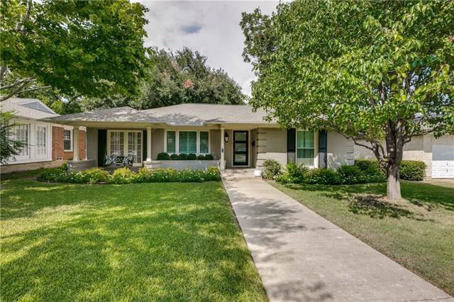 6207 Ravendale Lane, Dallas, TX 75214 (MLS #14185484) :: Tenesha Lusk Realty Group