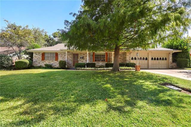 5012 Fall River Drive, Fort Worth, TX 76103 (MLS #14185556) :: Robbins Real Estate Group