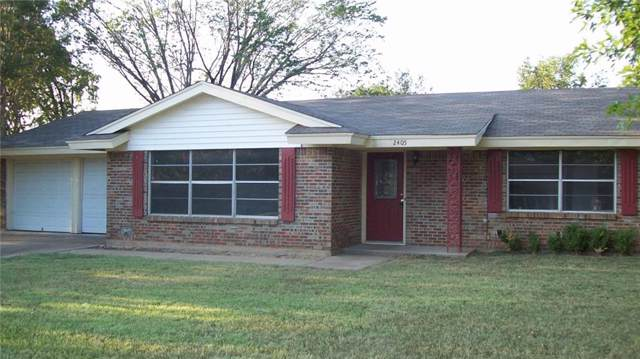 2405 SE 10th Street, Mineral Wells, TX 76067 (MLS #14185574) :: All Cities Realty