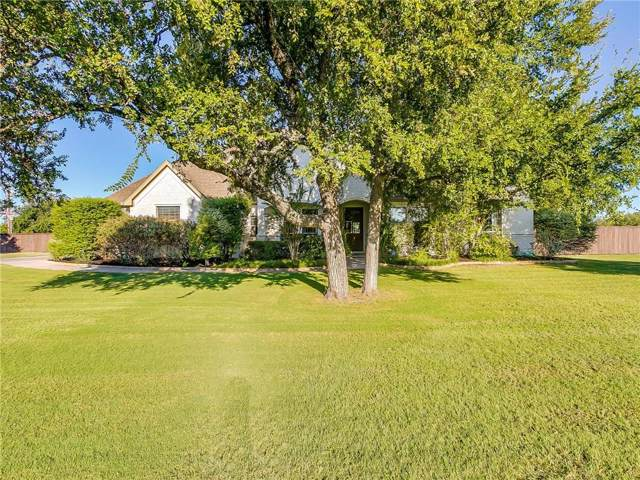 121 Tanglewood Drive, Aledo, TX 76008 (MLS #14185576) :: RE/MAX Town & Country