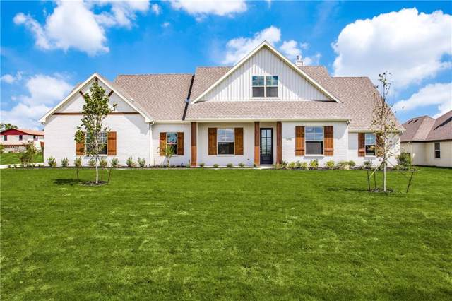 1422 Oliver Creek Lane, Justin, TX 76247 (MLS #14185578) :: All Cities Realty