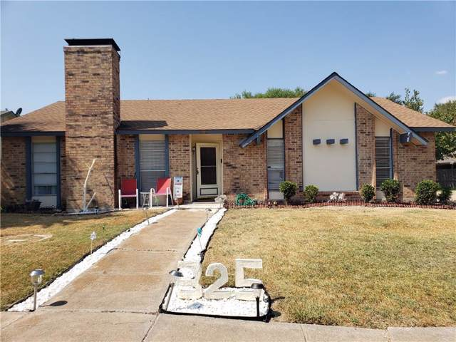325 Colonel Drive, Garland, TX 75043 (MLS #14185596) :: The Heyl Group at Keller Williams