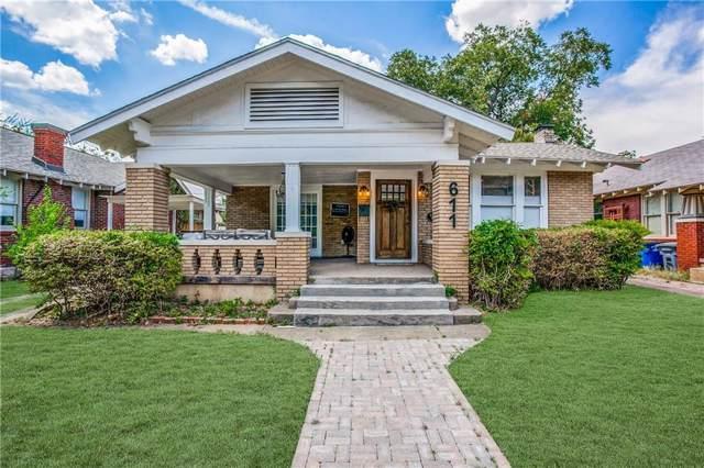 611 N Montclair Avenue, Dallas, TX 75208 (MLS #14185754) :: Lynn Wilson with Keller Williams DFW/Southlake