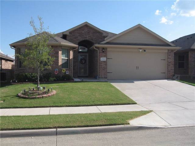 2721 Gains Mill Drive, Fort Worth, TX 76123 (MLS #14185759) :: The Good Home Team