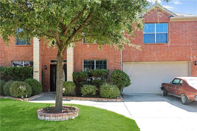 4920 Marsh Harrier Avenue, Grand Prairie, TX 75052 (MLS #14185765) :: The Heyl Group at Keller Williams