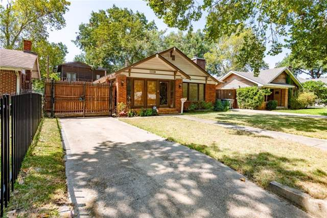 1119 S Montreal Avenue, Dallas, TX 75208 (MLS #14185900) :: Lynn Wilson with Keller Williams DFW/Southlake