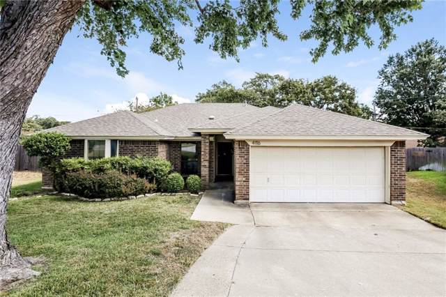4116 Chipwood Court, Arlington, TX 76017 (MLS #14185938) :: The Rhodes Team