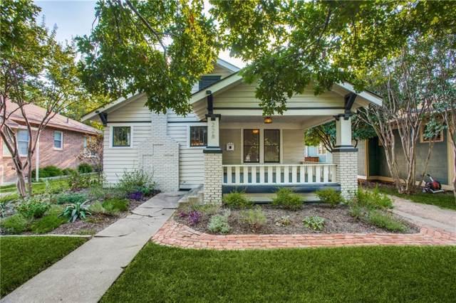 228 N Brighton Avenue, Dallas, TX 75208 (MLS #14185959) :: Ann Carr Real Estate