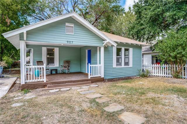 907 Wayne Street, Dallas, TX 75223 (MLS #14186020) :: Tenesha Lusk Realty Group
