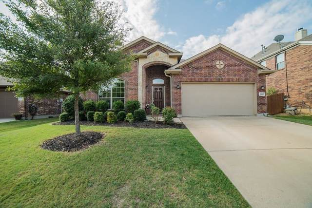 5337 Threshing Drive, Fort Worth, TX 76179 (MLS #14186039) :: Kimberly Davis & Associates