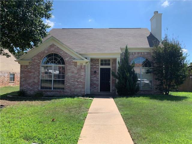 1352 Saddleback Lane, Lewisville, TX 75067 (MLS #14186073) :: The Heyl Group at Keller Williams
