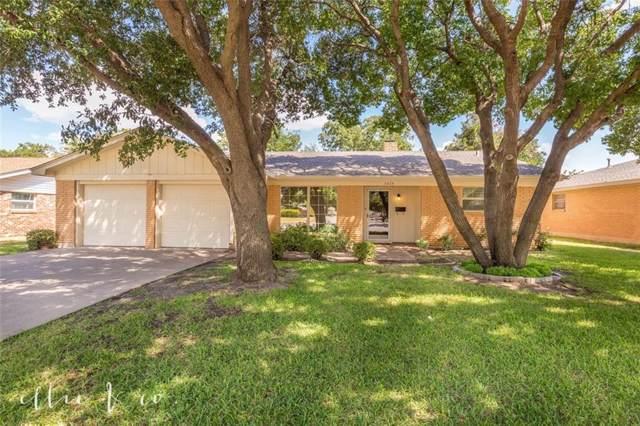 3475 Santa Monica Drive, Abilene, TX 79605 (MLS #14186090) :: Robbins Real Estate Group