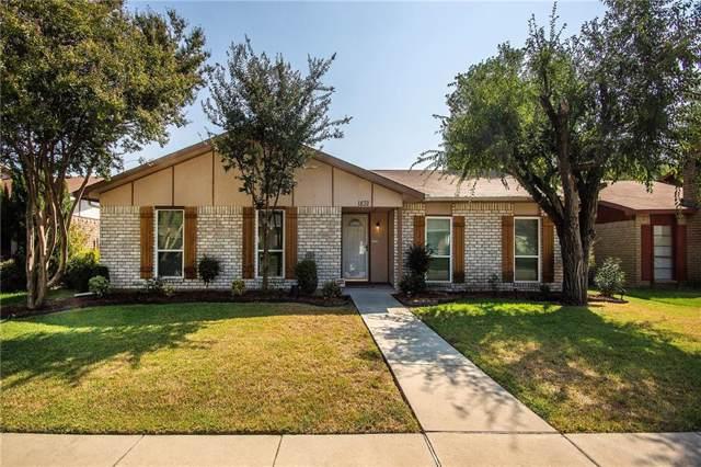1832 Clear Creek Lane, Carrollton, TX 75007 (MLS #14186095) :: All Cities Realty