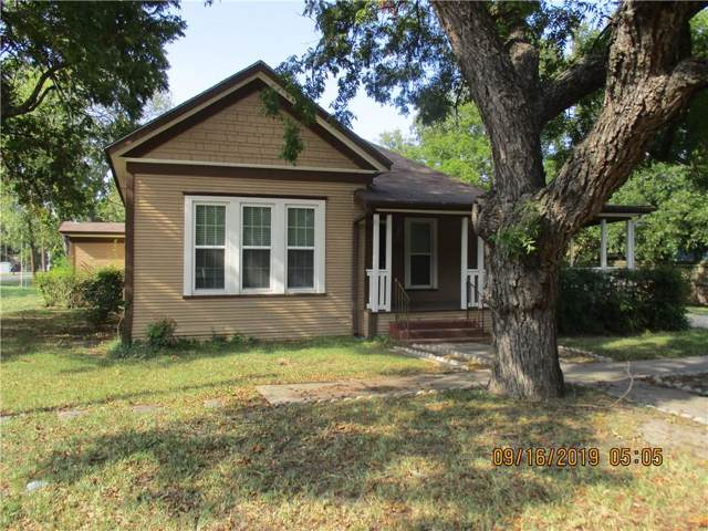 410 2nd Street, Kerens, TX 75144 (MLS #14186106) :: RE/MAX Town & Country