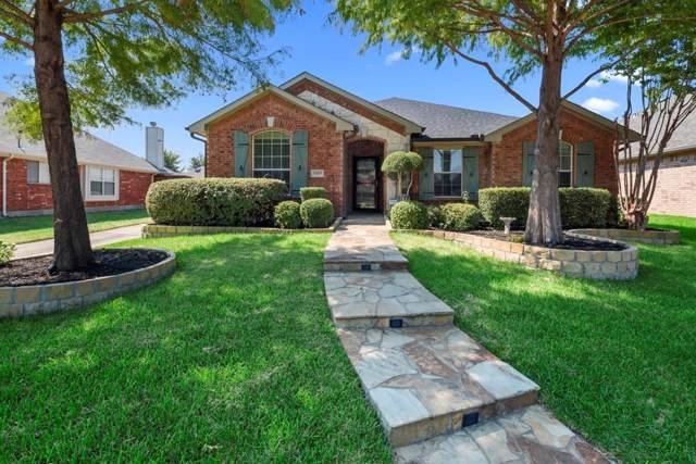 5505 Foxfire Lane, The Colony, TX 75056 (MLS #14186328) :: The Heyl Group at Keller Williams