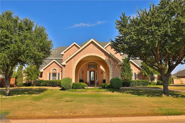 1210 S Saddle Lakes Drive, Abilene, TX 79602 (MLS #14186338) :: Team Hodnett