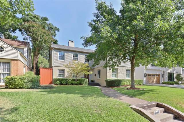4548 Arcady Avenue, Highland Park, TX 75205 (MLS #14186505) :: Robbins Real Estate Group
