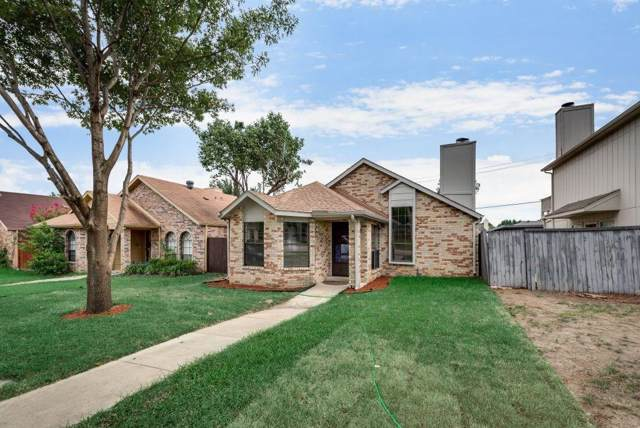 1320 Cedar Ridge Drive, Lewisville, TX 75067 (MLS #14186515) :: The Rhodes Team