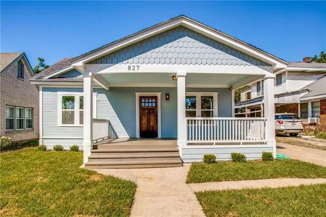 827 S Edgefield Avenue, Dallas, TX 75208 (MLS #14186579) :: RE/MAX Town & Country