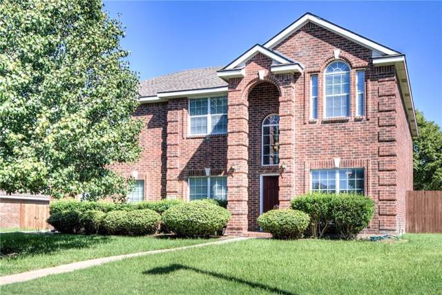 1314 Kingsley Court, Allen, TX 75013 (MLS #14186602) :: The Good Home Team