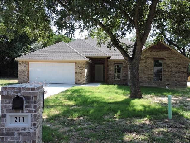 211 Allen Street, Weatherford, TX 76086 (MLS #14186724) :: Kimberly Davis & Associates