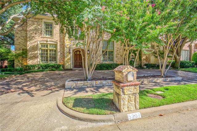 5307 Ambergate Lane, Dallas, TX 75287 (MLS #14186968) :: Lynn Wilson with Keller Williams DFW/Southlake