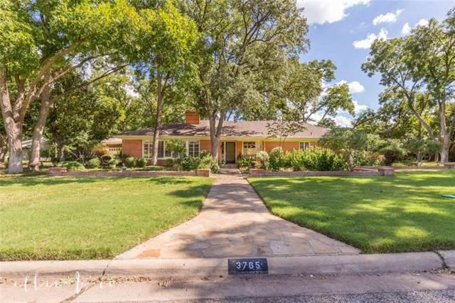 3765 Woodridge Drive, Abilene, TX 79605 (MLS #14186974) :: Ann Carr Real Estate