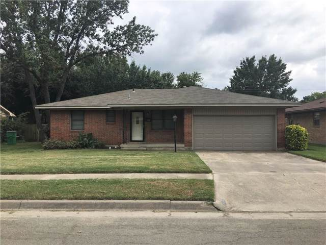 1706 Morningside Drive, Gainesville, TX 76240 (MLS #14186995) :: The Heyl Group at Keller Williams