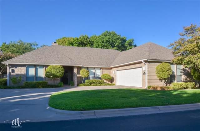 105 Riverside Park, Abilene, TX 79605 (MLS #14187109) :: Kimberly Davis & Associates