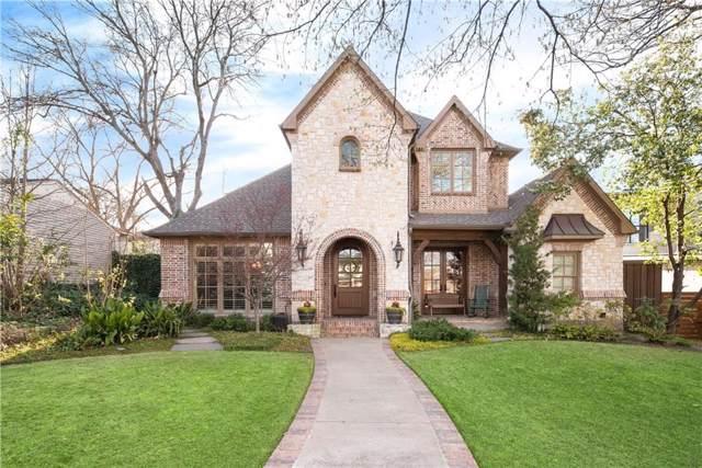 8715 Glencrest Lane, Dallas, TX 75209 (MLS #14187138) :: The Heyl Group at Keller Williams