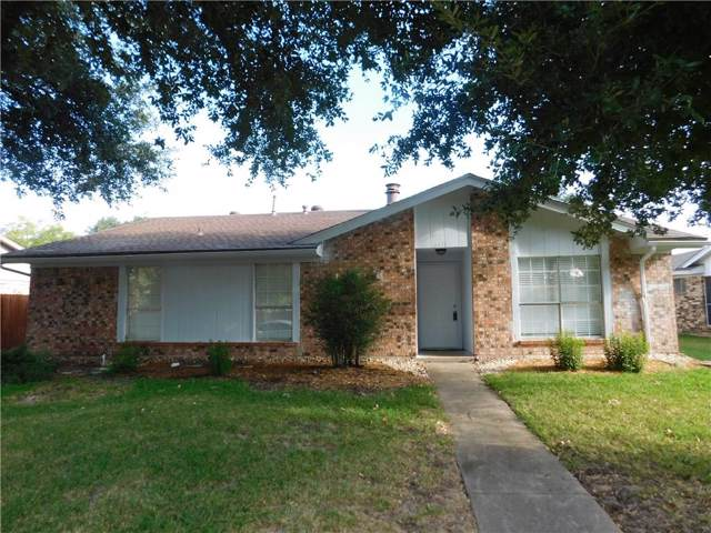 3417 Latham Drive, Garland, TX 75044 (MLS #14187169) :: The Heyl Group at Keller Williams